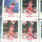Michael Jordan 1990 fleer Basketball Card