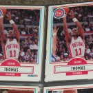 Isiah Thomas 1990 Fleer Basketball Card