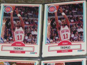 Isiah Thomas 1990 Fleer Basketball Card