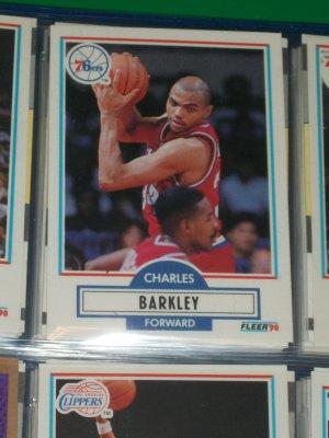 Charles Barkley 1990 Fleer Basketball Card