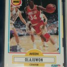 Akeem Olajuwan 1990 Fleer Basketball Card
