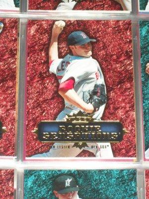 "Jon Lester 2007 Fleer ""Rookie Sensations"" Baseball Card"