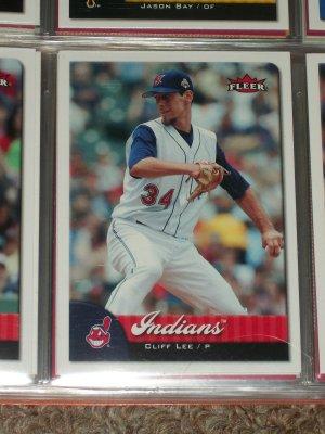Cliff Lee 2007 Fleer Baseball Card