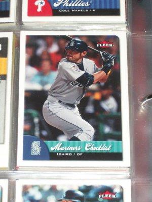 Ichiro 2007 Fleer Baseball Card