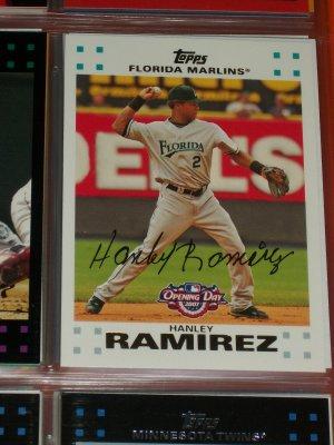 Hanley Ramirez 2007 Topps Baseball Card