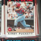 Kirby Puckett 1986 Topps Baseball Card