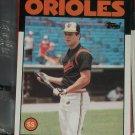 Cal Ripken 1986 Topps Baseball Card