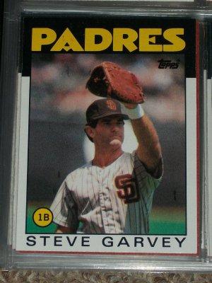 Steve Garvey 1986 Topps Baseball Card