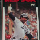Jim Rice 1986 Topps Baseball Card