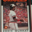 Eddie Murray 1986 Topps Baseball Card