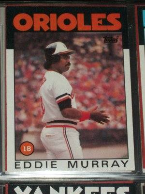 Eddie Murray 1986 Topps Baseball Card