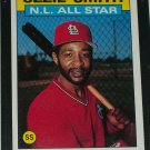 Ozzie Smith 1986 Topps NL ALL-STAR BASEBALL CARD