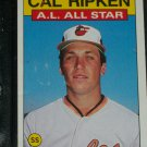 Cal Ripken 1986 AL ALL-STAR BASEBALL CARD
