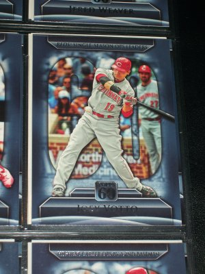 Joey Votto 2011 Topps 60-Reds Single Season OPS Leaders- Baseball card