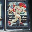 Chase Utley 2011 Topps 60- OPS Leader for Career by 2nd Baseman baseball card