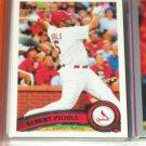 Albert Puljos 2011 Topps Baseball Card