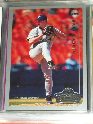 """Billy Wagner 2007 Topps """"Opening Day"""" Baseball Card"""