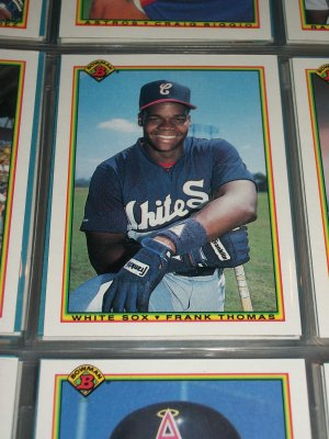 Frank Thomas RARE 1990 Bowman ROOKIE-Baseball Card