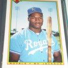 Bo Jackson 1990 Bowman Baseball Card