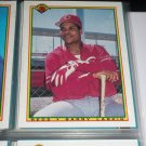 Barry Larkin 1990 Bowman Baseball Card