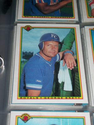 George Brett 1990 Bowman Baseball Card