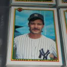 Don Mattingly 1990 bowman baseball card