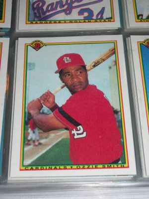 Ozzie Smith 1990 Bowman Baseball Card