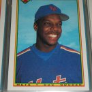 Doc Gooden 1990 Bowman Baseball Card