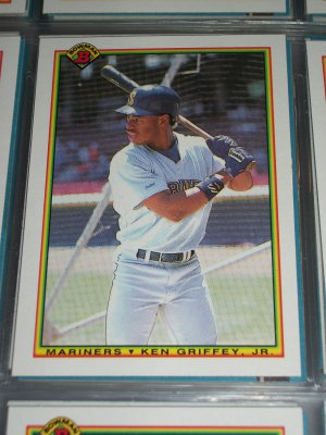Ken Griffey jr 1990 Bowman Baseball Card