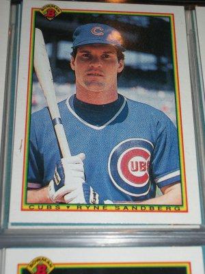Ryne Sandberg 1990 Bowman Baseball Card