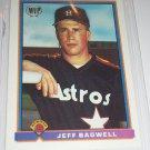 RARE Jeff bagwell 1991 Bowman MVP insert baseball card