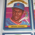 "Doc Gooden 1986 ""Donruss Diamond Kings"" Insert Baseball Card"