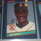 Jim Rice 1986 Leaf baseball card