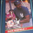 Dave Winfield 1986 Leaf baseball card