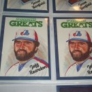 "Jeff Reardon 1986 Leaf RARE ""CANADIAN GREATS"" INSERT baseball card"