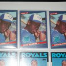 Fred McGriff 1986 Leaf- Rated Rookie Baseball Card