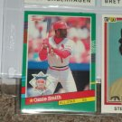 Ozzie Smith 1991 Donruss N.L. All-Star baseball card