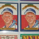 "Bret Saberhagen 1986 Donruss ""Diamond Kings"" baseball card"