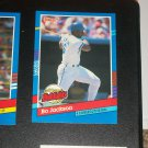 "Bo Jackson 1991 Donruss ""Highlights""- 4 Consecutive Home Runs baseball card"