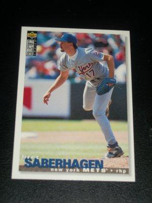 Brett Saberhagan 1995 Upper Deck Collectors Choice Baseball Card