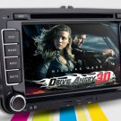 2 Din 7 Inch Car DVD Player for Volkswagen with GPS Bluetooth DVB-T