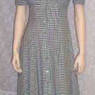 Vintage All That Jazz Peasant ~ Empire Waist ~ Romantic Dress Size 7-8 7/8 109-353h