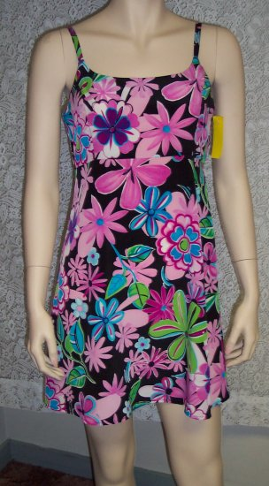 All That Jazz NWoT Floral Print Sundress Dress Size 7-8 192-485 Once Is Never Enough