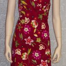 NWT Byer Too Californina Sundress Boho Hippie Dress Size 7 147-731 Once Is Never Enough