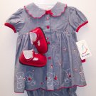 BT Kids 3 pc Ensemble Girls Size 6-9 Months NWT 109-61 location9