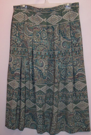 Koret Gently Pleated Full Skirt Size 18 101-1213 Once Is Never Enough