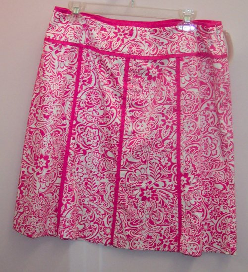 Norton McNaughton Petites Full Skirt Size 12P 324-65 Once Is Never Enough