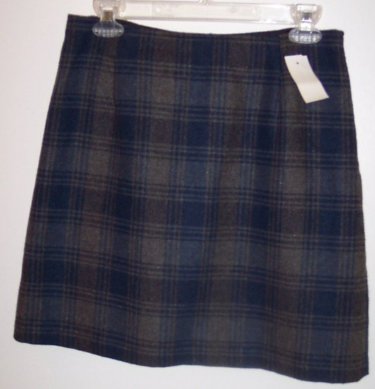 Maurices Mini Pencil Wool Skirt Size 8 141-23 Once Is Never Enough