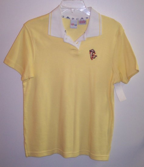Disney Short Sleeve T Shirt Polo Top Tigger Size S 141-468 locationw10