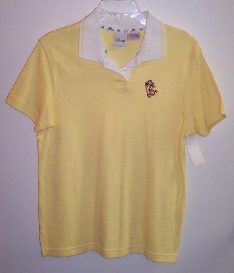 Disney Short Sleeve T Shirt Polo Top Tigger Size S 141-468 locationw10